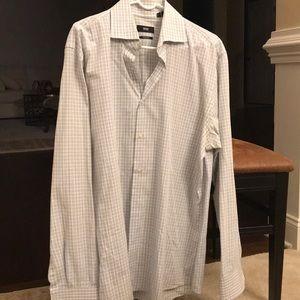 Hugo Boss Men's Dress Shirt size 16 1/2, 34/35